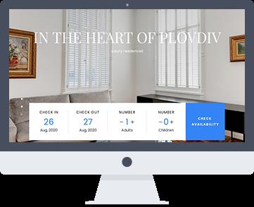 Уеб сайт Orpheusapartments.com - луксозни апартаменти и стаи в Пловдив. Изработка на сайт и поддръжка от SEVEN.BG